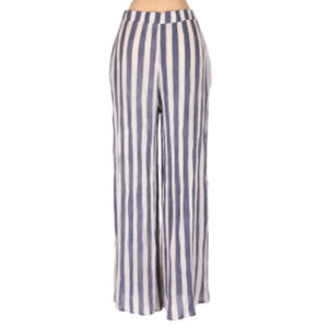Love In Striped Palazzo Pants Sz S